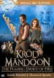 Go to record Krod Mandoon and the flaming sword of fire.