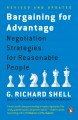 Go to record Bargaining for advantage : negotiation strategies for reas...
