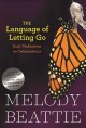 Go to record The language of letting go